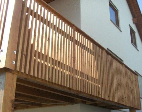 balkone terrassen udn carports zimmerei und holzbau warti. Black Bedroom Furniture Sets. Home Design Ideas